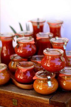 Faites vos conserves de sauce tomate maison – du bio dans mon bento