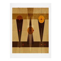 Viviana Gonzalez Geometric Abstract 4 Art Print | DENY Designs Home Accessories