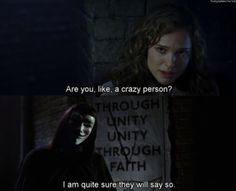 are you like a crazy person?