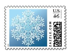 Snowflake postage stamp available at: http://www.zazzle.com/blue_winter_snowflake_christmas_postage-172926448429463606