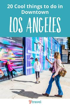 Downtown Los Angeles is a hip and happening place to travel to. Discover these amazing things to do in LA, including where to eat, drink and stay in LA. As you plan your California itinerary, you'll want the inside scoop on places to visit downtown, and fun activities for kids as well  #California #LA #LosAngeles #traveltips #travel #DowntownLA
