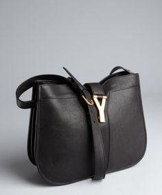 Saint Laurent Classic Y Satchel In Black Leather | ysl.com- my ...