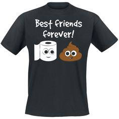- T-Shirt von Best Friends Forever! Best Friends Forever, Funny Shirts, Shirt Designs, Mens Tops, Shopping, Cool Shirts, Shell Tops, Clothing, Ideas