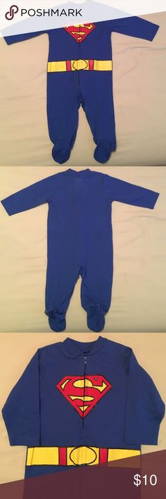 TM&DC Superman Pajamas 3/6 Months ❤️ (Final Sale) TM&DC Comics Superman Pajamas 3/6 Months ❤️ NWOT ❤️ All funds are going to nursing school 💉👸🏼👶🏽📚📝 Thanks for the support ❤️Any items that are $8 and below are final and the price is firm, please take into consideration that Posh does charge a sellers fee per item, Thank you ❤️ TM & DC Comics Pajamas Pajama Sets