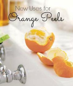 Discover six new uses for orange peels in your home. | www.inspirationformoms.com #sixonsaturday #newusesforthings #orangepeels