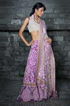 Designer Fishtale Lehenga   Strandofsilk.com - Indian Designers