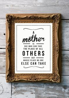 Retro Inspirational Quote Giclee Art Print - Vintage Typography Decor - Customize - Mother's Day UK