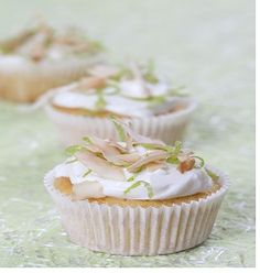 Cupcakes with Lime and Coconut | Huletts Sugar