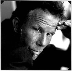 The oddly handsome Mr. Tom Waits. <3