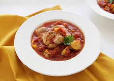 Fresh Grouper Stew with Chunks of Potatoes and Sweet Peppers Recipe - Very Tasty Food. Let's make it!