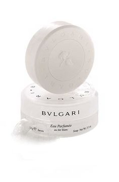 Bvlgari Bar Soap. Smells so fresh, clean and perfume fragrance. This was a part of the samples that our hotel room in Vegas provided. LOVE!