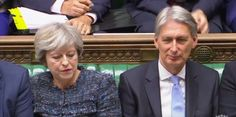 Theresa May with chancellor Philip Hammond