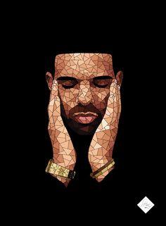 """shazart: """" Drake by SHAZ """""""