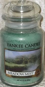 """Yankee Candle """"Meadow Mist"""""""