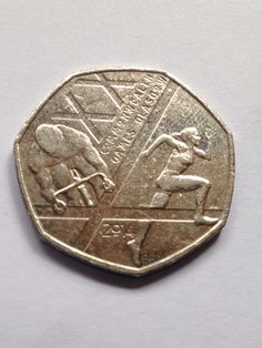 Collectable 50p Coin 2014 Common Wealth Games