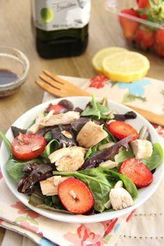 Strawberry Summer Salad #STARFineFoods