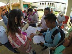 Se invierten 4 mdp para obras de pavimentación en San Juan Río Manso