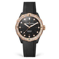 Watches Patek Philippe Calatrava, Titanium Watches, Watch Model, Fine Watches, Gold Glass, Stainless Steel Watch, Watches Online, Watch Brands, Black Rubber