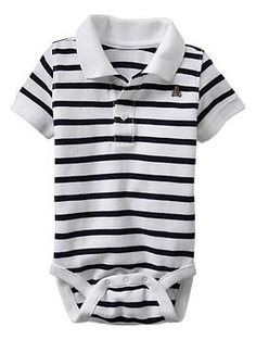 Stripe polo bodysuit - GAP (i might be obsessed with stripes!!)