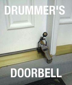 Drummer's Door Bell                                                                                                                                                     More
