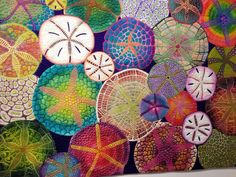 Hand painted sand dollars - Google Search
