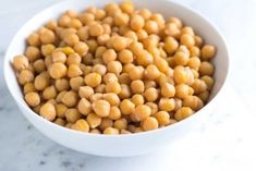 How to Cook Dried Chickpeas Three Ways