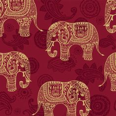 Indian Elephants for Wall Decor by Print a Wallpaper - Offering Wallpaper Solution at USD 2.0 / sq.ft. Email us at info@printawallpaper.com or call us at +91-98110-31749