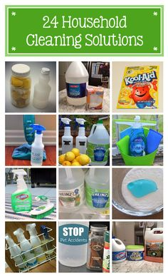 24 DIY cleaning solutions you'll want to remember. Time to nix the store-bought chemical laden cleaning agents for simple, easy and cheap solutions!
