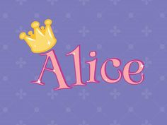 Poster - Alice