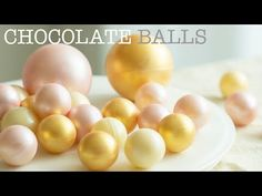 넘나예쁜 초콜릿 볼 2가지 방법 (진짜 쉬운 초콜릿 템퍼링)/Chocolate Balls(Easy Chocolate tempering method) - YouTube Cake Decorating For Beginners, Cake Decorating Techniques, Cake Decorating Tutorials, Chocolate Garnishes, Chocolate Truffles, Chocolate Chocolate, Cupcake Cakes, Cupcakes, 50th Cake