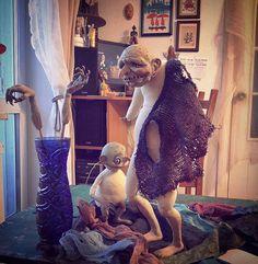 Бабушка без комплексов, сфотографировала этап перед прической и костюмом.#Куклы #doll #творчество #art #коллекционнаякукла #artdoll #handmade #dollcollection #dollartistry #интерьернаякукла #авторскаякукла #handmadedolls