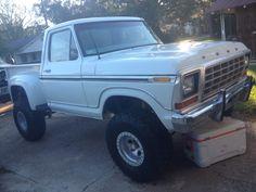 1979 Ford Truck, Old Ford Trucks, Ford 4x4, Mini Trucks, Lifted Trucks, Cool Trucks, Pickup Trucks, Cool Cars, Chevy Stepside
