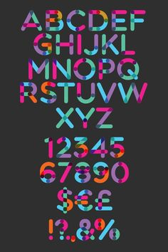 Multicolore is a unique colored free font that's perfect for creating short texts for headlines, posters, and more.