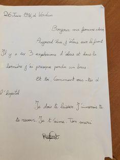 Lettres de Poilus, écrites par les CM2.