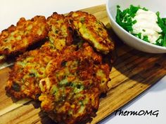 Zucchini and Corn Fritters — ThermOMG