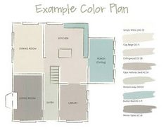 Pottery Barn paint color planner.