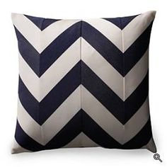 easily made with striped fabric