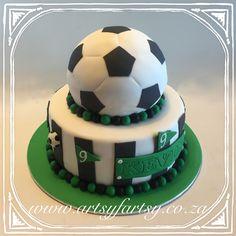 Soccer Cake #soccercake