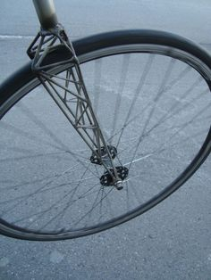 Truss bicycle fork by Jef Bradshaw