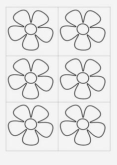 Art Drawings For Kids, Art For Kids, Crafts For Kids, Leaf Template, Flower Template, Felt Flowers, Paper Flowers, Felt Crafts, Paper Crafts