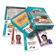 Amazon.com: Just Desserts Game: Toys & Games