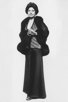 Eunice Johnson :FashionPioneer.. She gave all women but especially African American women someone to look to for fashion savvy , grace and integrity! She rocked!