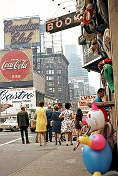 70's-Time Square was something else back than! Some call it adventure land.