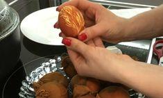 Modul corect de vopsire a ouălor de Paști cu coji de ceapă. - Bucatarul Pudding, Desserts, Food, Tailgate Desserts, Deserts, Custard Pudding, Essen, Puddings, Postres