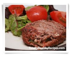 These healthy Pepper Stuffed Burgers are such a crowd pleaser. They are so full of flavor, and the they just melt in your mouth. Perfect for any barbeque!