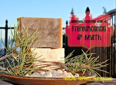 How to Make Handmade Frankincense & Myrrh Hot Process Soap -- Frankincense and Myrrh oils are famous for being gifts for Our Lord Jesus on the day of his birth from the Three Kings.  Both of these oils were more valued than gold in those times.  These days, they are revered for their health benefits, and Frankincense, in particular, for its anti-aging and...