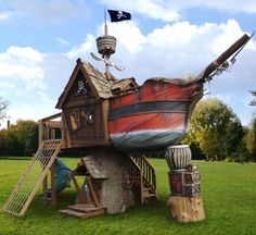 this is cool! pirate fort