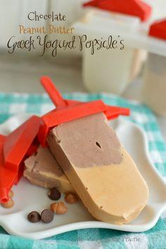 Greek Yogurt Popsicle's