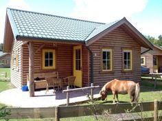 Elk vakantiehuisje met Shetland pony @ PonyParkCity www.ponyparkcity.nl