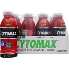 Buy 1-2-3-4 or More & Save More!  Buy 1-2-3-4 or More CYTOSPORT Cytomax RTD Performance Drink 12 bttls of 16.9 oz  #Cytosport